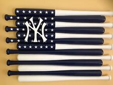 New York Yankees Custom Baseball Bat Flag (Choose Team And Colors)