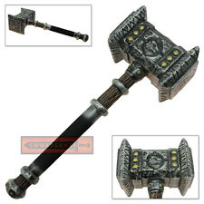 Soft FOAM Thrall Replica Latex Prop Orgrim Hammer Cosplay Doomhammer Weapon