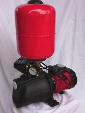 1.0HP  BIGFLOW Pressure Water Jet Pump 36m Hmax 85l/min WITH Tank + Switch