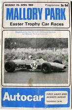 MALLORY PARK 7th Apr 1969 Easter Trophy Motor Racing Official Programme
