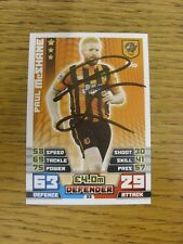 2014/2015 Autograph: Hull City - McShane, Paul [Hand Signed 'Topps Match Attax'