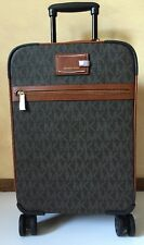 MICHAEL Michael Kors Signature Brown Travel Trolley Luggage