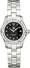 CHRISTMAS SPECIAL TAG HEUER AQUARACER WAF141D.BA0813 DIAMOND LADIES BLACK WATCH