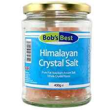 Sal Del Himalaya-Roca - 400g-Cristal de sales del Bob's Mejor Salud Natural