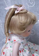"""MONIQUE Doll Wig """"RENEE"""" Size 5-6 Color BLONDE - Ringlets & Bangs SO SWEET!"""