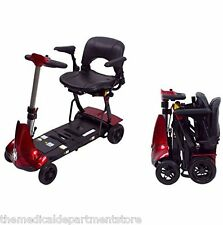 Solax Mobie Folding Travel Mobility Power Scooter Brand New! (Red)