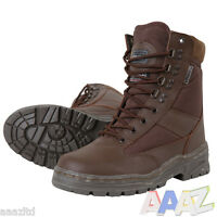 MILITARY PATROL BOOTS BROWN MTP 3M THINSULATE MENS WALKING BRITISH ARMY CADET