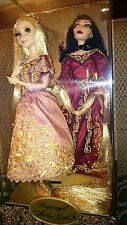 Tangled Rapunzel & Mother Gothel Set Disney Fairytale Designer Limited Exclusive