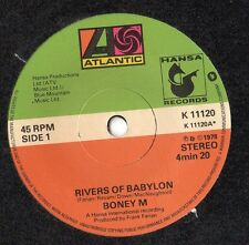 "Boney M - Rivers of Babylon 7"" Single 1978 K11120"