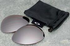 Genuine Oakley New Ti Crosshair Titanium - Black Iridium Polarized Lenses + Bag
