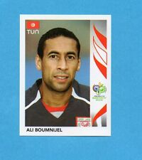 PANINI-GERMANY 2006-Figurina n.570- BOUMNIJEL - TUNISIA -NEW BLACK