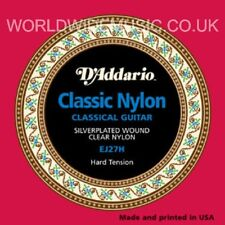 D'ADDARIO EJ27H classic nylon cordes guitare dur