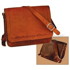 HORIZONTAL MESSENGER BAG LEATHER KIT by TANDY