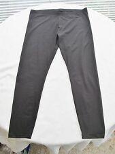 Schicke Leggings XL 48 50 Schwarz hochwert.Leggins bi-elastisch C&A Baumwoll-Mix