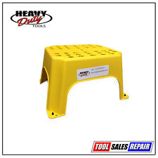 Plasterers - Hop Up, Step Up, Safe Step, Work Platform, Yellow Step Stool