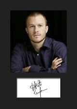 HEATH LEDGER #1 A5 Signed Mounted Photo Print - FREE DELIVERY