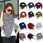 2015 Unisex Women Men Arab Shemagh Keffiyeh Palestine Scarf Shawl Wrap Military