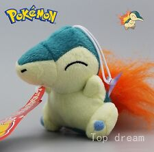 New Pokemon Cyndaquil Plush Toy Soft Stuffed Animal Collectible Doll Teddy 12cm