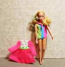 PRETTY 1970 NEW LIVING SKIPPER BARBIE DOLL WITH EXTRA DRESS VINTAGE