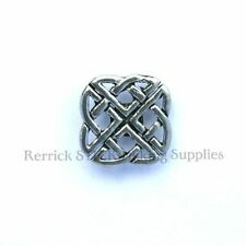 ONE PEWTER BADGE FOR WALKING STICK MAKING CELTIC KNOT