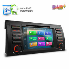 HD Android 6.0 Car DVD Stereo Radio GPS WiFi OBD2 DAB+ For BMW E38 E53 X5 M5