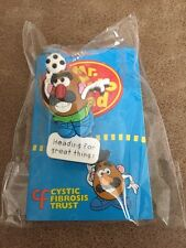 Toy Story Mr Potato Head Football Cystic Fibrosis sucker new & sealed