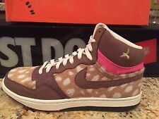 WMNS NIKE COURT FORCE HI PREMIUM WOMENS  SIZE 12 BAMBI 317072 222