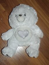 Care Bear TENDERHEART 2007 Silver 25th Anniversary with SWAROVSKI Crystals