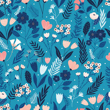 Dashwood Studio. Millefleur Collection. Floral fabric. MLFR 1180. Per FQ