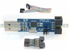USBasp USB ISP Programmer, cable & adapter KK2.0 KK2.1 Multiwii ATMega UK TESTED