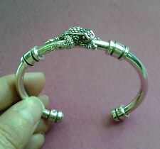 BARRY KIESELSTEIN CORD STERLING SILVER BABY HERMAN TOAD FROG BANGLE BRACELET