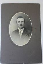 vintage black and white photograph handsome young man