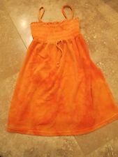 Juicy Couture Orange Terry Dress Size 7