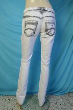 pantalon jeans blanc ARMANI JEANS taille W 29 EU