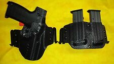 HOLSTER w/DOUBLE MAG COMBO BLACK KYDEX Kel-Tec PMR-30 with x300 W/Speed Clips