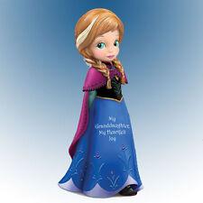 My Granddaughter, My Heartfelt Joy Frozen Anna Figurine Bradford Exchange