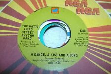 Soul 45 The Watts 103Rd Street Rhythm Band - A Dance, A Kiss And A Song / Do You