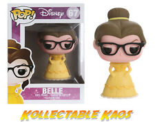 Beauty and the Beast - Nerd /Hipster Belle Pop! Vinyl with POP PROTECTOR