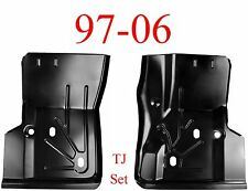97 06 Jeep Wrangler TJ Front Floor Pan Set, 0485-219, 0485-220