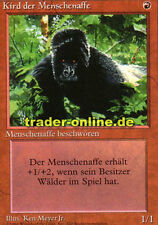 Kird der Menschenaffe (Kird Ape) Magic limited black bordered german beta fbb fo