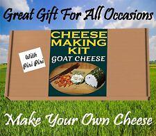 Fabbricazione del formaggio KIT Capra Formaggio & Piri Piri GRANDE REGALO COMPLEANNO