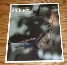 Original 2012 Chevrolet Equinox Sales Brochure 12 Chevy
