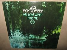 WES MONTGOMERY Willow Weep For Me ORIG SEALED NM LP 1969 VERVE V6-8765 STEREO