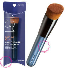 New Shiseido Japan Perfect Foundation Angled Slant Makeup Brush With Case 131