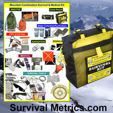 Mountain Survival & Medical Combination Kit