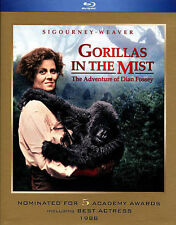 BRAND NEW FACTORY SEALED BLU-RAY GORILLAS IN THE MIST Sigourney Weaver