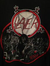 VINTAGE SLAYER REIGN IN BLOOD SHIRT THRASH METAL