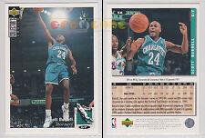 NBA UPPER DECK 1994 COLLECTOR'S CHOICE - Scott Burrell # 58 Ita/Eng MINT