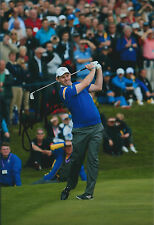 Stephen GALLACHER SIGNED Autograph 12x8 Photo AFTAL COA 2014 Ryder Cup Winner