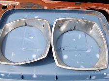 1974 - 1978 Mustang II Headlight Trim Ring Bezel Grille D4ZB-13052 &64 Pair Ghia
